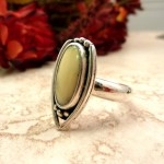 Sterling Handcrafted Ring by Janice Fowler Doxallo Designs