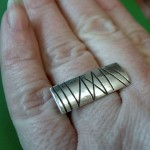 Sterling Silver handcrafted ring Doxallo Designs
